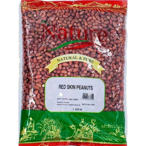 Dr Nature Red Skin Peanuts 1Kg