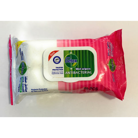 Antibacterial Wet Wipes - 80 pcs