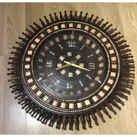 Hand made large clock