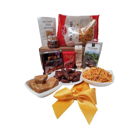 A LITTLE SWEET VALENTINE  SNACK BOX HAMPER