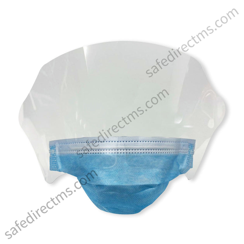Surgical Mask Face Shield (ASTM Level 2)