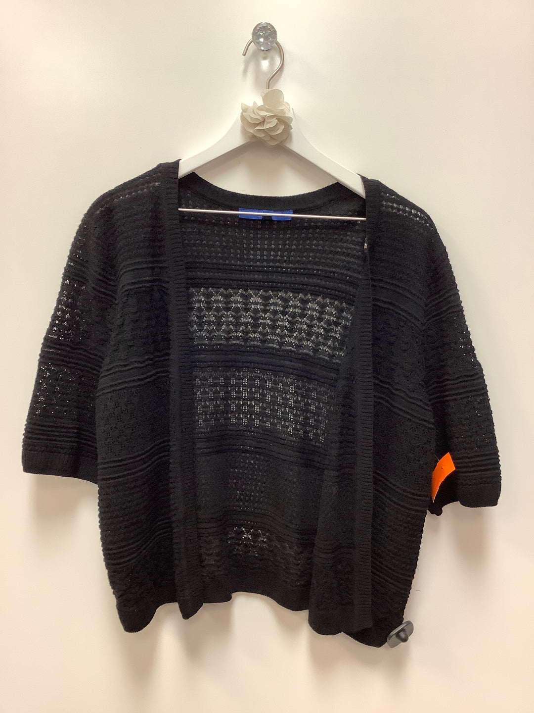 Primary Photo - BRAND: APT 9 <BR>STYLE: SWEATER CARDIGAN LIGHTWEIGHT <BR>COLOR: BLACK <BR>SIZE: XL <BR>SKU: 153-15320-67581