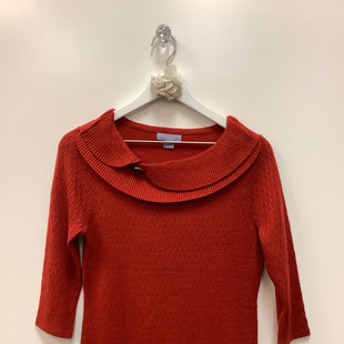 Primary Photo - BRAND: LAURA SCOTT STYLE: TOP LONG SLEEVE COLOR: RUST SIZE: S SKU: 153-153174-859