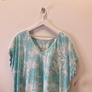 Primary Photo - BRAND: SONOMA STYLE: TOP SHORT SLEEVE COLOR: TEAL SIZE: 3X SKU: 153-15320-84137