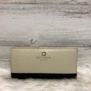 Primary Photo - BRAND: KATE SPADE STYLE: WALLET COLOR: CREAM SIZE: MEDIUM SKU: 153-153173-1439