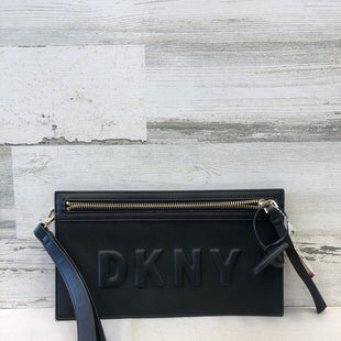 Primary Photo - BRAND: DKNY STYLE: WRISTLET COLOR: BLACK SKU: 153-153169-2301
