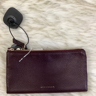 Primary Photo - BRAND:    CLOTHES MENTOR STYLE: WALLET COLOR: BURGUNDY SIZE: LARGE OTHER INFO: LEVENGER - SKU: 153-153111-43761