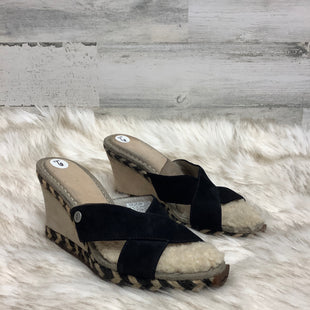 Primary Photo - BRAND: UGG STYLE: SANDALS LOW COLOR: BLACK SIZE: 6 SKU: 153-153111-33289