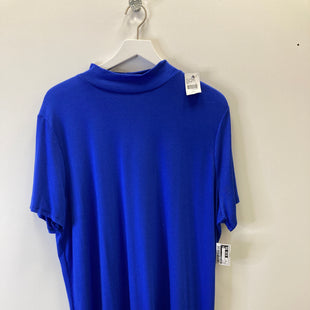 Primary Photo - BRAND: LANE BRYANT O STYLE: TOP SHORT SLEEVE COLOR: BLUE SIZE: 2X SKU: 153-15320-73869