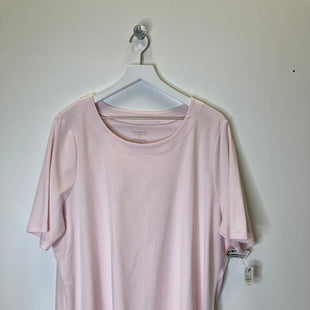 Primary Photo - BRAND: TALBOTS O STYLE: TOP SHORT SLEEVE COLOR: PINK SIZE: 3X SKU: 153-15320-83582