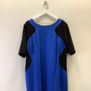 Primary Photo - BRAND: LANE BRYANT STYLE: DRESS SHORT SHORT SLEEVE COLOR: BLUE SIZE: 2X SKU: 153-153164-17038