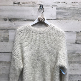 Primary Photo - BRAND: VERY J STYLE: SWEATER HEAVYWEIGHT COLOR: CREAM SIZE: S SKU: 153-15320-79543