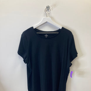 Primary Photo - BRAND: ST JOHNS BAY STYLE: TOP SHORT SLEEVE BASIC COLOR: BLACK SIZE: 2X SKU: 153-153164-13273