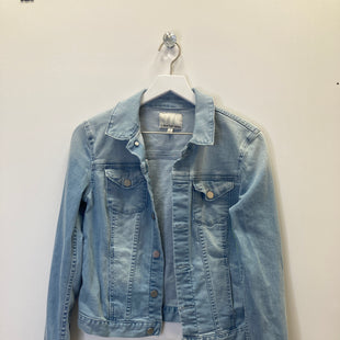Primary Photo - BRAND: CALVIN KLEIN STYLE: JACKET OUTDOOR COLOR: DENIM SIZE: S SKU: 153-153111-45617
