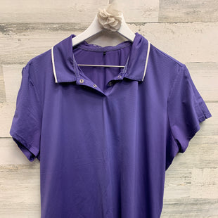 Primary Photo - BRAND: NIKE APPAREL STYLE: ATHLETIC TOP SHORT SLEEVE COLOR: PURPLE SIZE: 2X SKU: 153-153111-33152