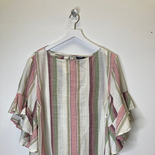 Primary Photo - BRAND: CHAPS STYLE: TOP SHORT SLEEVE COLOR: PINKGREEN SIZE: 1X SKU: 153-15320-84464