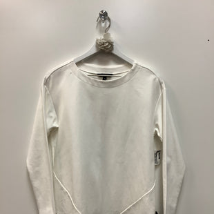 Primary Photo - BRAND: BANANA REPUBLIC STYLE: TOP LONG SLEEVE COLOR: WHITE SIZE: S SKU: 153-153173-3391