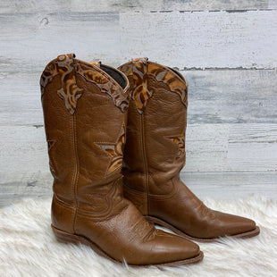 Primary Photo - BRAND: LAREDO STYLE: BOOTS KNEE COLOR: TAN SIZE: 7 SKU: 153-15399-14785