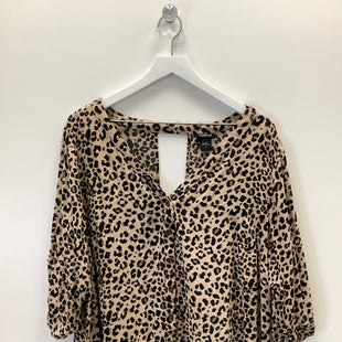 Primary Photo - BRAND: TORRID STYLE: TOP LONG SLEEVE COLOR: ANIMAL PRINT SIZE: 3X SKU: 153-15320-84048