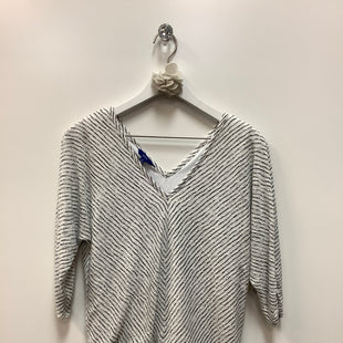Primary Photo - BRAND: APT 9 STYLE: TOP LONG SLEEVE COLOR: GREY WHITE SIZE: S SKU: 153-153173-6053