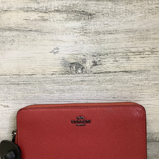 Primary Photo - BRAND: COACH STYLE: WALLET COLOR: ROSE SIZE: LARGE SKU: 153-153111-44058