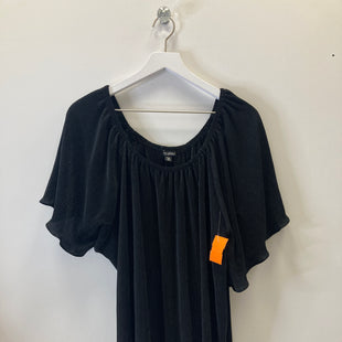 Primary Photo - BRAND: ROZ AND ALI STYLE: TOP SHORT SLEEVE COLOR: BLACK SIZE: 2X SKU: 153-15320-82664