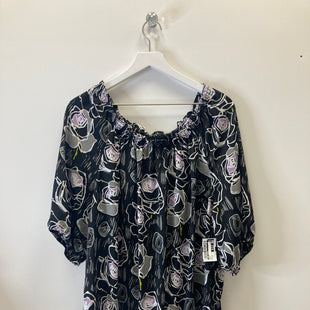 Primary Photo - BRAND: LANE BRYANT STYLE: TOP SHORT SLEEVE COLOR: BLACK SIZE: 2X SKU: 153-15320-71980