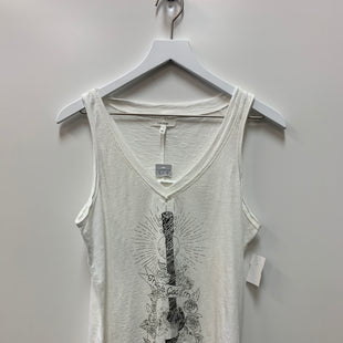Primary Photo - BRAND: MAURICES STYLE: TOP SLEEVELESS COLOR: WHITE BLACK SIZE: M SKU: 153-15399-18135