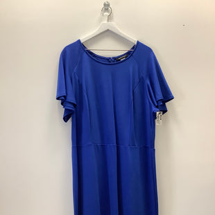 Primary Photo - BRAND: ASHLEY STEWART STYLE: DRESS SHORT SHORT SLEEVE COLOR: ROYAL BLUE SIZE: 3X SKU: 153-153173-7743