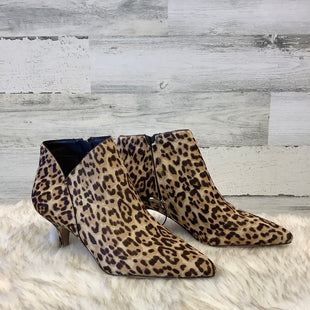 Primary Photo - BRAND: SAM EDELMAN STYLE: BOOTS ANKLE COLOR: ANIMAL PRINT SIZE: 10 SKU: 153-153173-1314