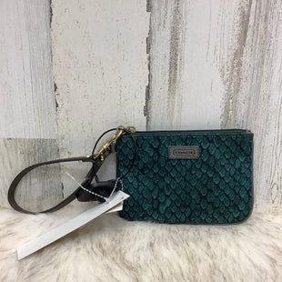 Primary Photo - BRAND: COACH STYLE: WRISTLET COLOR: GREEN SIZE: S SKU: 153-153131-9375