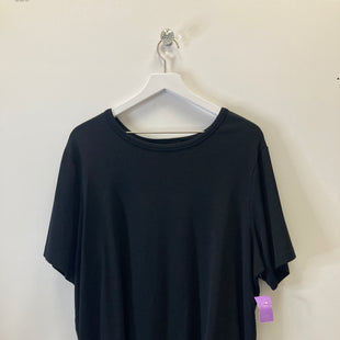 Primary Photo - BRAND: KAREN KANE STYLE: TOP SHORT SLEEVE BASIC COLOR: BLACK SIZE: 2X SKU: 153-15320-69749