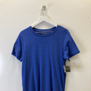 Primary Photo - BRAND: EDDIE BAUER STYLE: TOP SHORT SLEEVE COLOR: BLUE SIZE: 2X SKU: 153-153173-4362