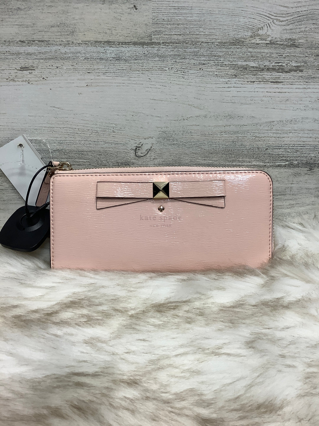 Primary Photo - BRAND: KATE SPADE <BR>STYLE: WALLET <BR>COLOR: PINK <BR>SIZE: LARGE <BR>SKU: 153-153111-33071