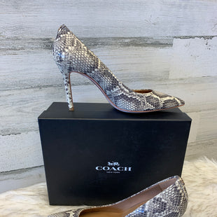 Primary Photo - BRAND: COACH STYLE: SHOES HIGH HEEL COLOR: SNAKESKIN PRINT SIZE: 7.5 SKU: 153-15320-72345