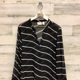 Primary Photo - BRAND: CHICOS STYLE: TOP LONG SLEEVE COLOR: BLACK SIZE: XL SKU: 153-15399-17294