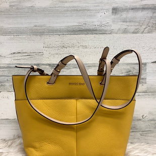 Primary Photo - BRAND: MICHAEL BY MICHAEL KORS STYLE: HANDBAG DESIGNER COLOR: YELLOW SIZE: MEDIUM OTHER INFO: 30S9GBFT2L SKU: 153-15320-78007