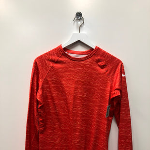Primary Photo - BRAND: NIKE APPAREL STYLE: ATHLETIC TOP COLOR: ORANGE SIZE: L SKU: 153-15320-79296