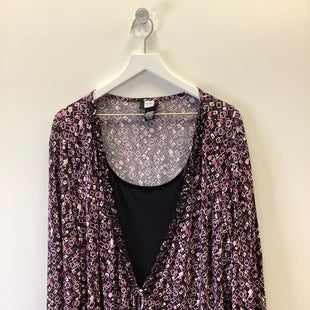 Primary Photo - BRAND: STUDIO 1940 STYLE: TOP LONG SLEEVE COLOR: PURPLE SIZE: 4X SKU: 153-15320-86844