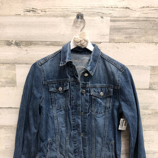 Primary Photo - BRAND: GAP O STYLE: JACKET OUTDOOR COLOR: DENIM SIZE: M OTHER INFO: LONG SKU: 153-15320-79555