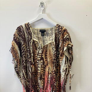 Primary Photo - BRAND: LANE BRYANT STYLE: TOP SHORT SLEEVE COLOR: ANIMAL PRINT SIZE: 3X SKU: 153-153173-797