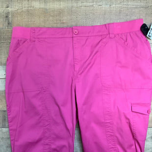 Primary Photo - BRAND: CJ BANKS STYLE: CAPRIS COLOR: PINK SIZE: 24 SKU: 153-15320-86841
