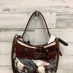 Primary Photo - BRAND: BURBERRY STYLE: HANDBAG DESIGNER COLOR: BROWN SIZE: LARGE OTHER INFO: ITPELANN5254FIR AS IS SKU: 153-15320-76452