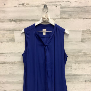 Primary Photo - BRAND: CHICOS STYLE: TOP SLEEVELESS COLOR: ROYAL BLUE SIZE: L SKU: 153-15399-17289