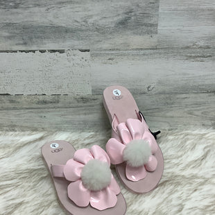 Primary Photo - BRAND: UGG STYLE: FLIP FLOPS COLOR: PINK SIZE: 9 SKU: 153-153173-3765