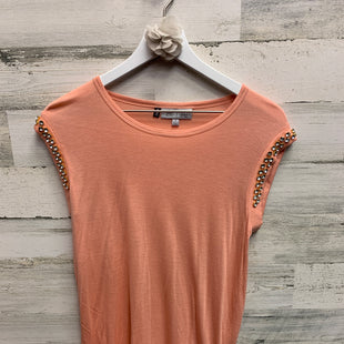 Primary Photo - BRAND: JENNIFER LOPEZ STYLE: TOP SHORT SLEEVE COLOR: PEACH SIZE: S SKU: 153-153173-1374