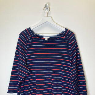 Primary Photo - BRAND: CHARTER CLUB STYLE: TOP LONG SLEEVE COLOR: NAVY SIZE: 3X SKU: 153-15320-80294
