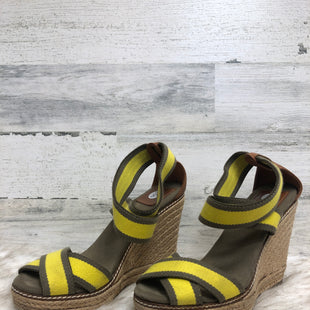 Primary Photo - BRAND: TORY BURCH STYLE: SANDALS HIGH COLOR: YELLOW SIZE: 8 SKU: 153-15320-78764