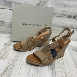 Primary Photo - BRAND: BANANA REPUBLIC STYLE: SANDALS HIGH COLOR: TAN SIZE: 9.5 SKU: 153-15320-77438