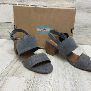 Primary Photo - BRAND: TOMS STYLE: SANDALS LOW COLOR: GREY SIZE: 6.5 SKU: 153-153173-6023